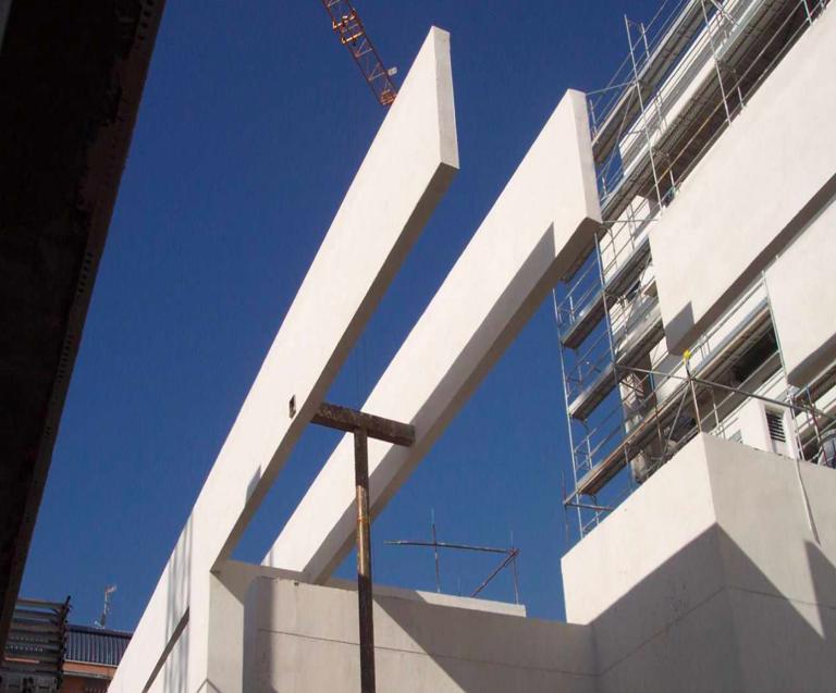 Paneles MK2 en fachadas