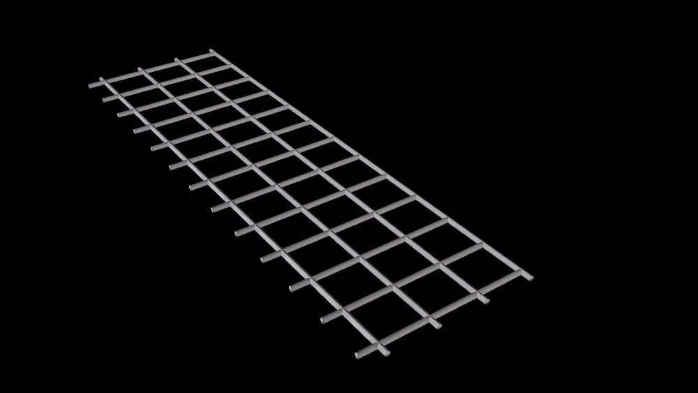 Flat mesh